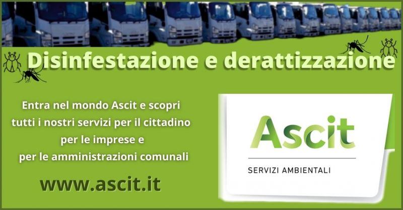 ASCIT SERVIZI AMBIENTALI - promozione servizi disinfestazione e derattizzazione