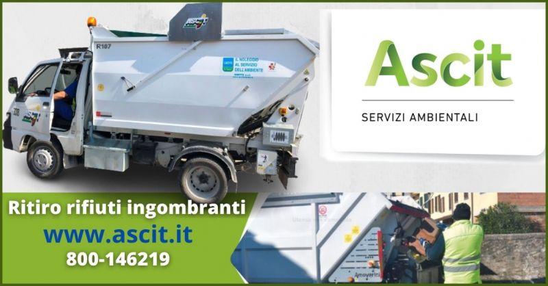 promozione servizio ritiro rifiuti ingombranti comuni Lucca - ASCIT SERVIZI AMBIENTALI
