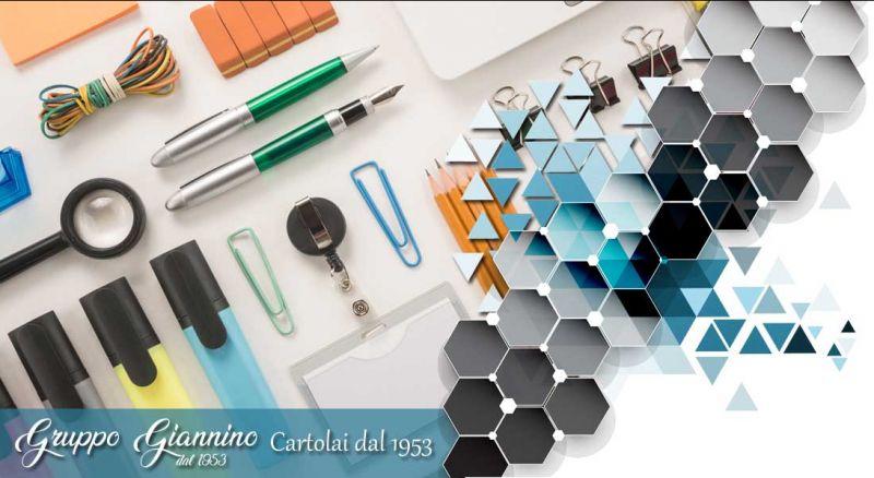 Gruppo Giannino - offerta articoli di cancelleria per uffici cosenza - promozione vendita e assistenza stampanti toner cartucce cosenza