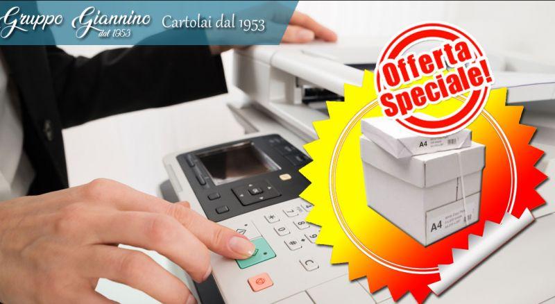 Gruppo Giannino - offerta risma di carta a4 per fotocopie cosenza - promozione risma di carta per stampanti cosenza