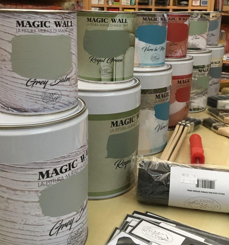 Magic Paint, Magic Wall, Pitture murali, Restauro