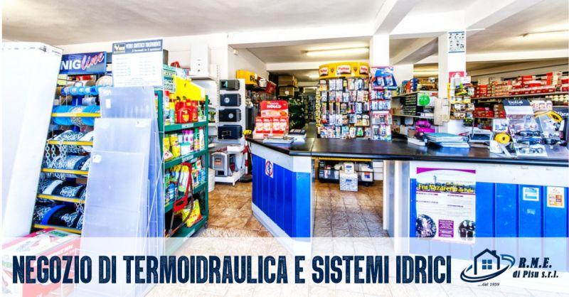 RME di Aldo Pisu - offerta negozio di termoidraulica e sistemi idrici