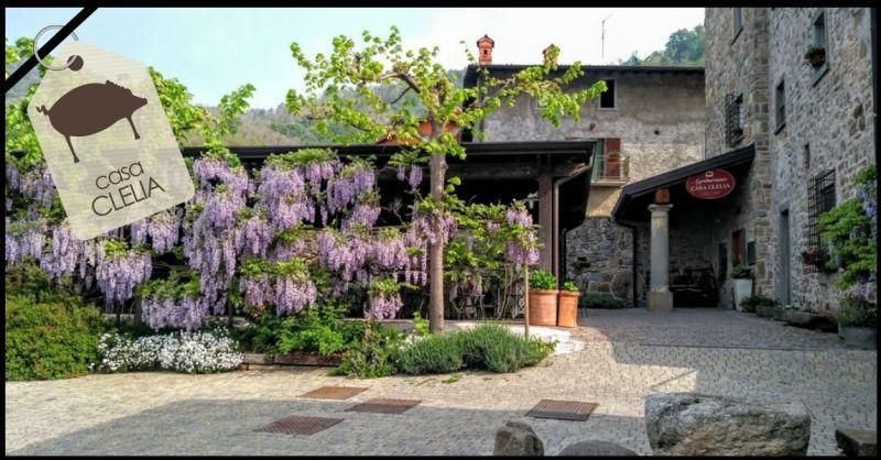 AGRITURISMO CASA CLELIA - Gelegenheidsrestaurant voor evenementen en plechtigheden in de provincie Bergamo