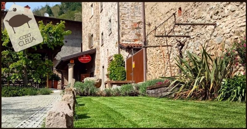 AGRITURISMO CASA CLELIA - Offer Hotel Agriturismo for events and weddings Bergamo province