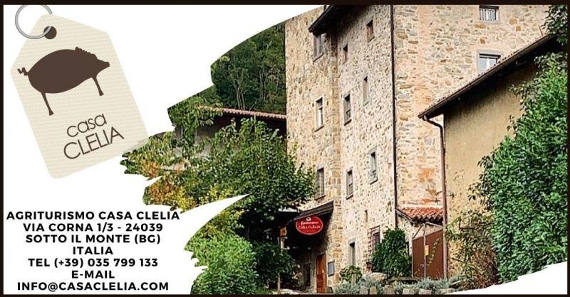 AGRITURISMO CASA CLELIA - Offerta Hotel Agriturismo per eventi e matrimoni Bergamo provincia