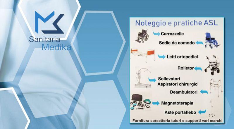 Sanitaria Medika - promozione noleggiare ausili e pratiche asl bari