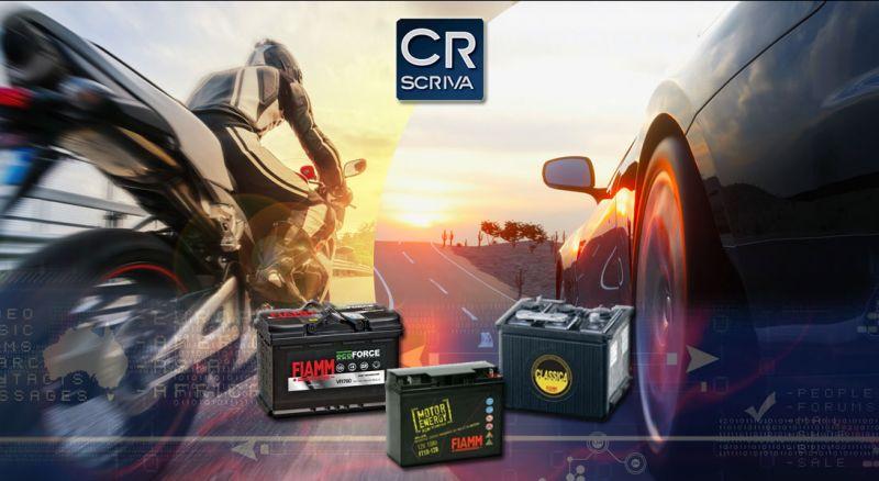 Casa del Ricambio - Offerta batterie FIAMM per auto e moto vendita online reggio calabria - occasione acquisto online batterie auto e moto taurianova