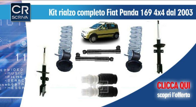 Casa del Ricambio - Offerta Kit ammortizzatori di rialzo panda 169 reggio calabria -occasione ammortizzatori di rialzo Fiat panda taurianova