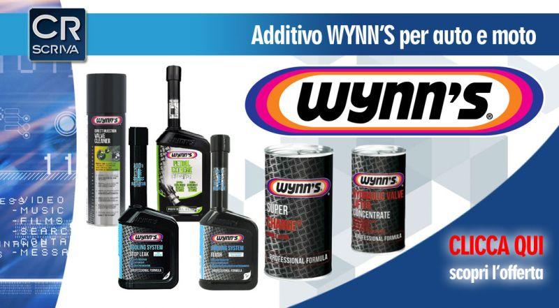 Casa del Ricambio - Offerta additivi Wynns per auto e moto reggio calabria - occasione additivi auto per diminuzione emissioni fumo nero taurianova