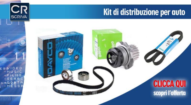 Casa del Ricambio - offerta kit di distribuzione con pompa acqua e cinghia servizi reggio calabria - promozione kit di distribuzione auto multimarca