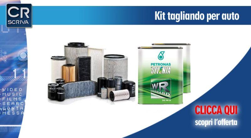Casa del Ricambio - offerta kit tagliando auto multimarca reggio calabria - promozione kit tagliando con olio e filtri per auto taurinova