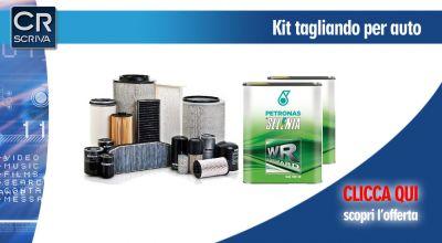casa del ricambio offerta kit tagliando auto multimarca reggio calabria promozione kit tagliando con olio e filtri per auto taurinova