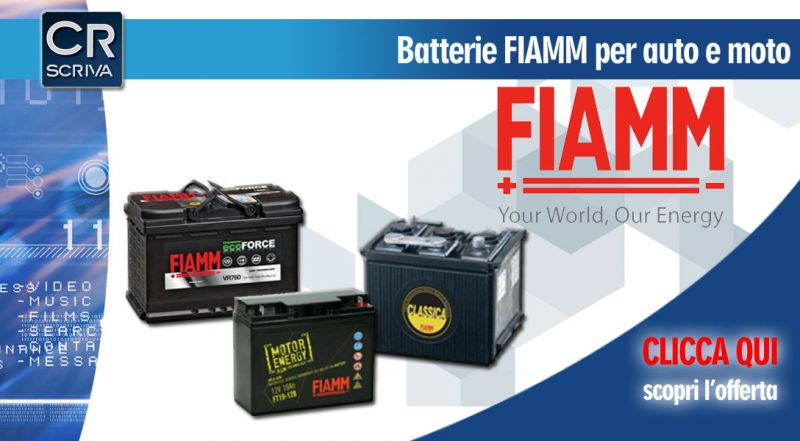 Casa del Ricambio - Offerta batterie FIAMM per auto vendita online reggio calabria - occasione vendita online batterie auto