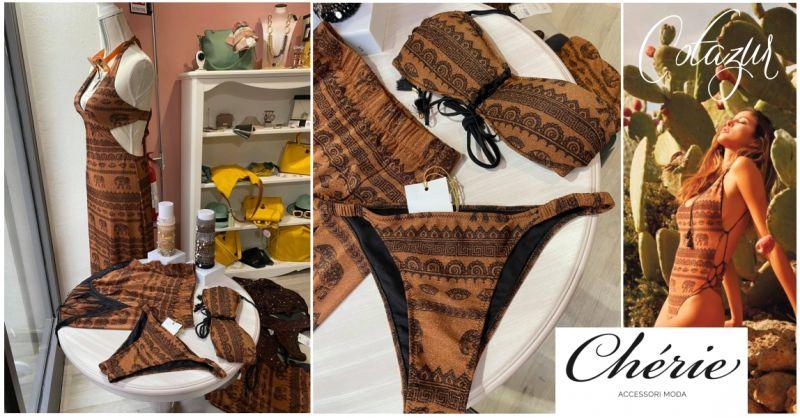 CHERIE Macomer - offerta nuove collezioni costumi da bagno Cotazur e accessori mare