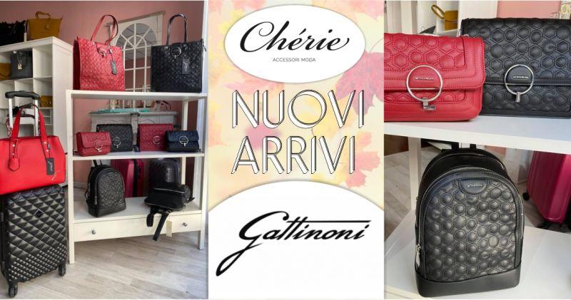 CHERIE Macomer - promozione borse Gattinoni Roma nuova collezione autunno inverno