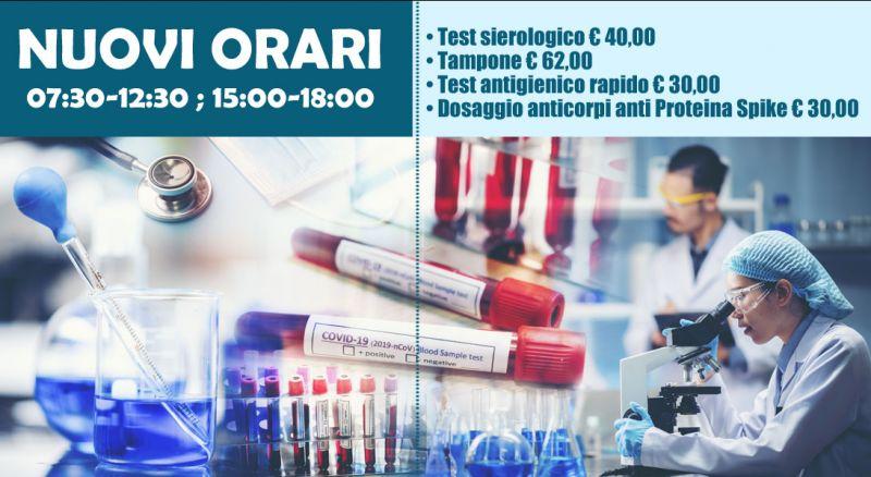 laboratorio mater gratiae - offerta  tampone molecolare e test antigenico rapido covid lecce - occasione tampone molecolare e test antigenico rapido covid brindisi