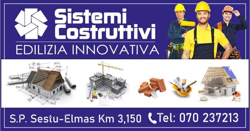 SISTEMI COSTRUTTIVI - offerta distribuzione migliori materiali per rifiniture edili miglior prezzo