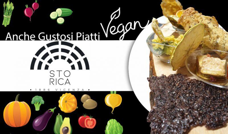 Offerta ristorante con piatti vegan Vicenza Centro - Occasione Ristorante certificato vegan Vicenza