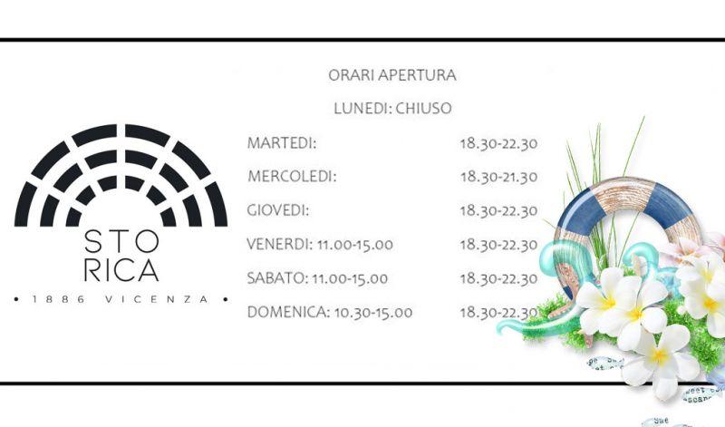 Osteria Storica 1886 Orari Apertura Estivi Ristoranti centro Vicenza
