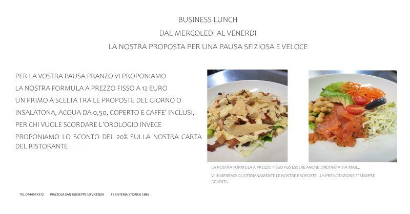 offerta centro vicenza pranzo prezzo fisso lavoro aperti oggi nei dintorni pausa pranzo