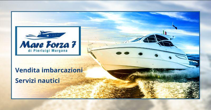 MARE FORZA SETTE offerta vendita barche Ragusa - occasione servizi nautici Vittoria
