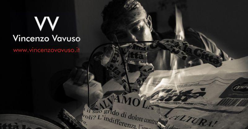 Promozione Opere di Scultura d'artisti Salernitani - Offerta Opera Contemporanea di Scultura Concettuale Campana
