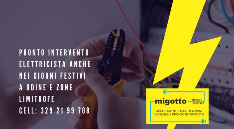Offerta pronto intervento elettricista a Udine – offerta elettricista a Udine