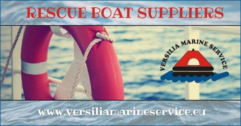 rescue boat suppliers - VERSILIA MARINE SERVICE