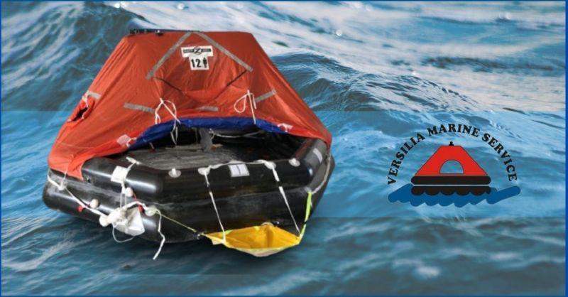 OFFERTA vendita e revisione zattere di salvataggio- Versilia Marine Service