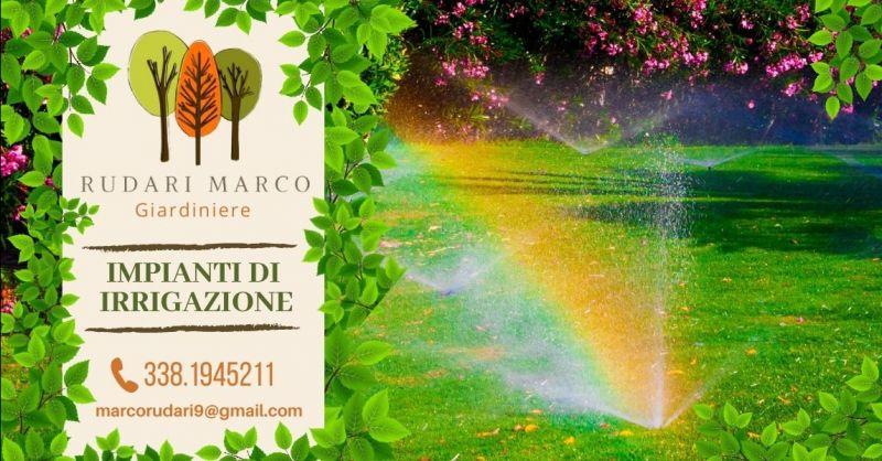Offerta realizzazione impianto irrigazione giardino - Occasione progettazione impianti di irrigazione Verona