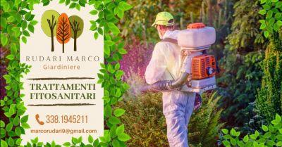 offerta trattamenti antiparassitari per giardini occasione trattamenti fitosanitari per parchi giardini verona