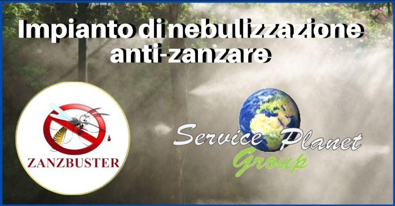 promozione servizi e impianti di nebulizzazione anti zanzare Pisa - SERVICE PLANET GROUP