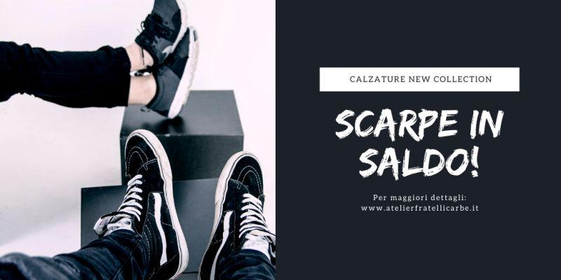FRATELLI CARBE - Offerta Scarpe e Calzatura uomo e donna in sconto fino al venti per cento