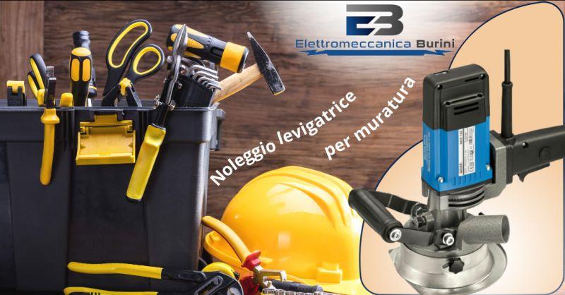ELETTROMECCANICA BURINI - Offerta Noleggio levigatrice per muratura Bergamo