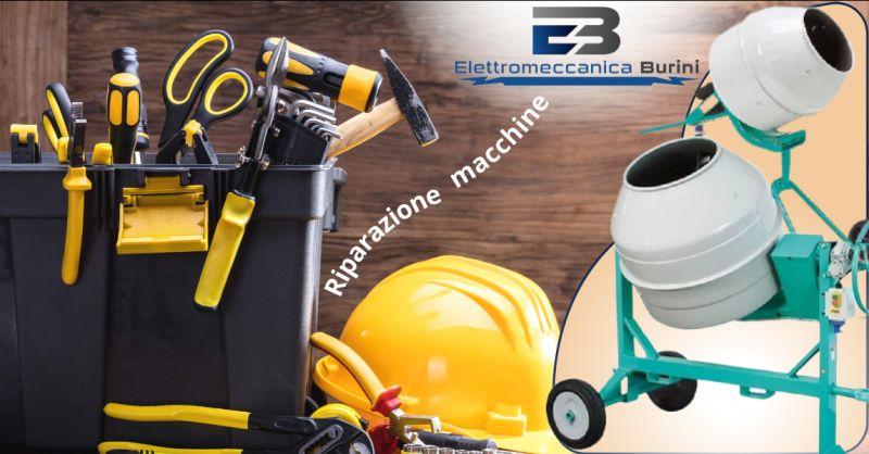 ELETTROMECCANICA BURINI - Offerta servizio riparazione macchine per edilizia Bergamo