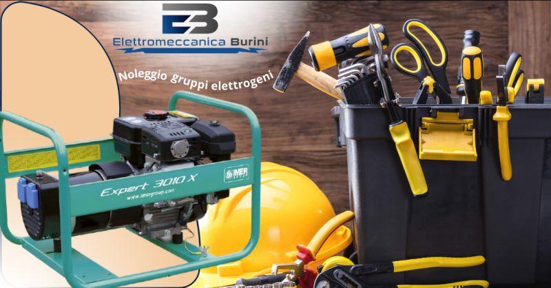 ELETTROMECCANICA BURINI - Offerta servizio noleggio gruppi elettrogeni Bergamo