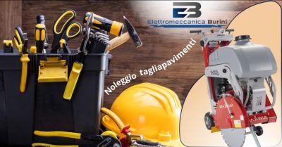 elettromeccanica burini offerta noleggio tagliapavimenti bergamo
