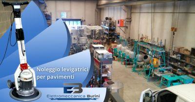 elettromeccanica burini offerta levigatrice per pavimenti a noleggio bergamo