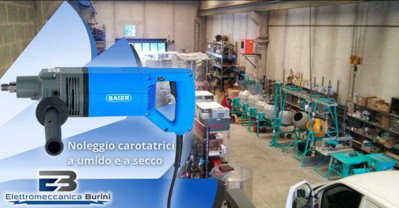 Offerta carotatrici a umido a noleggio Bergamo - occasione carotatrice a secco noleggio Bergamo