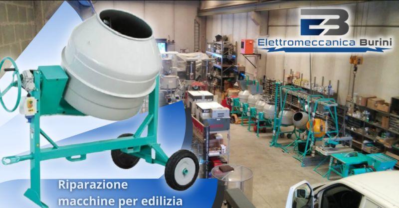 ELETTROMECCANICA BURINI - Offerta ditta riparazione macchine per edilizia Bergamo