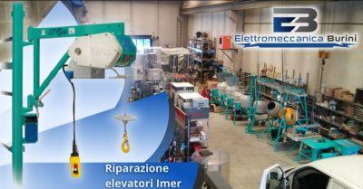 elettromeccanica burini offerta servizio riparazione elevatori imer bergamo