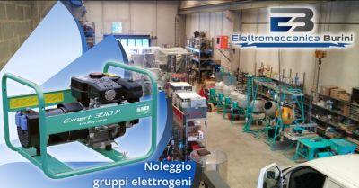 elettromeccanica burini offerta ditta noleggio gruppi elettrogeni bergamo