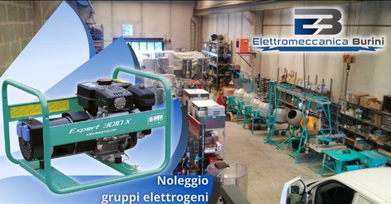 ELETTROMECCANICA BURINI - Offerta ditta noleggio gruppi elettrogeni Bergamo