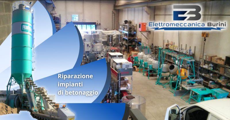 ELETTROMECCANICA BURINI - Offerta servizio riparazione impianti di betonaggio Bergamo