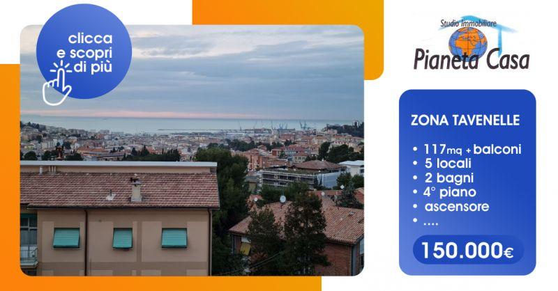 Offerta Appartamento In Vendita Ancona Zona Tavernelle - Occasione Appartamento in Affitto Ancona