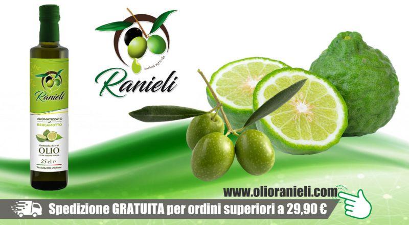Azienda Agricola Fratelli Ranieli - promozione olio extravergine oliva al bergamotto vibo valentia - occasione vendita online olio oliva al bergamotto