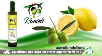 azienda agricola fratelli ranieli promozione olio extravergine oliva al limone vibo valentia occasione vendita online olio oliva al limone