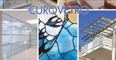 eurovetro offerta porte in cristallo scorrevoli e a battente citta di castello