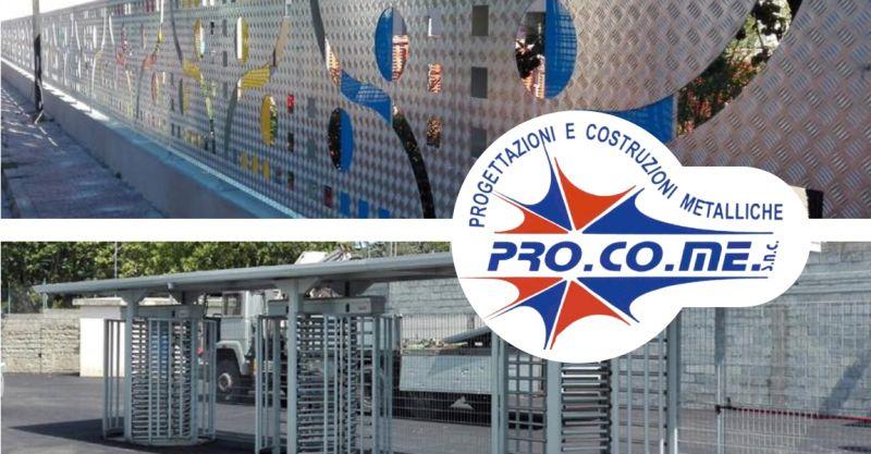 PRO.CO.ME - offerta realizzazione strutture metalliche prefabbricate certificate Sardegna