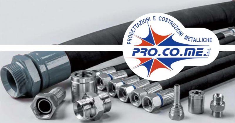 PRO.CO.ME - offerta produzione tubi e raccordi oleodinamici alta e bassa pressione Sardegna